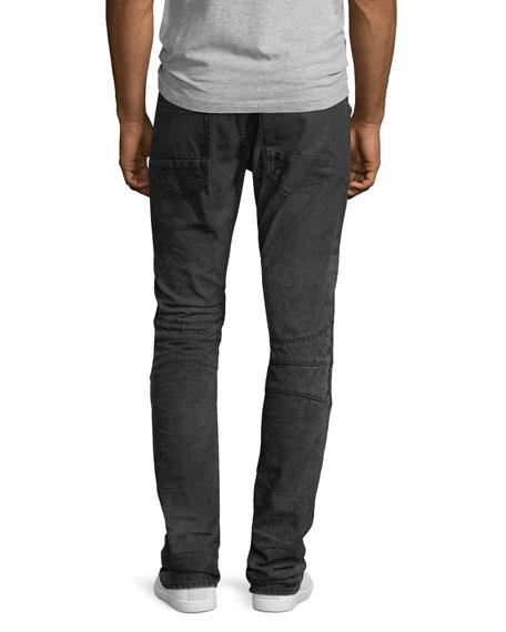 Le Sabre Moto Slim-Straight Jeans