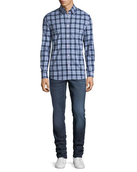 Talus Straight-Leg Slim-Fit Jeans