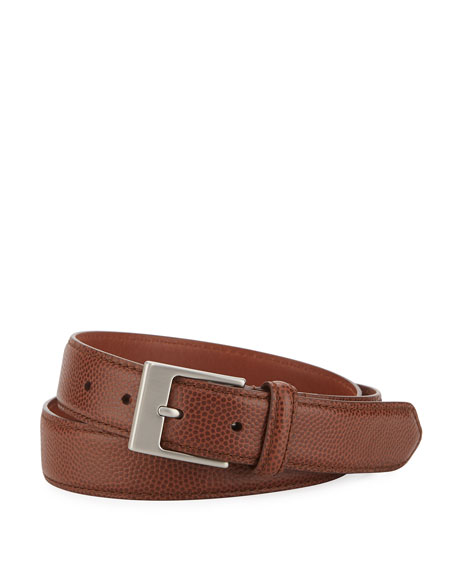 Shinola Men's Latigo Leather Belt