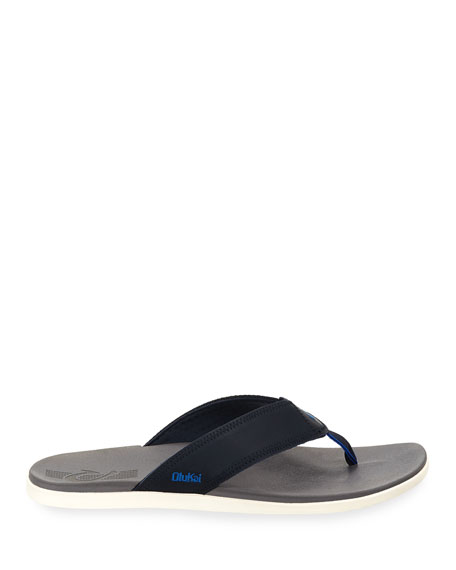 Men's Kinona Neoprene Thong Sandals, Blue