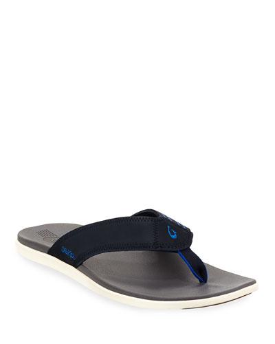 Men's Kinona Neoprene Thong Sandals, Blue