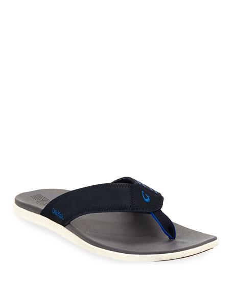 Kinona Neoprene Thong Sandal, Blue