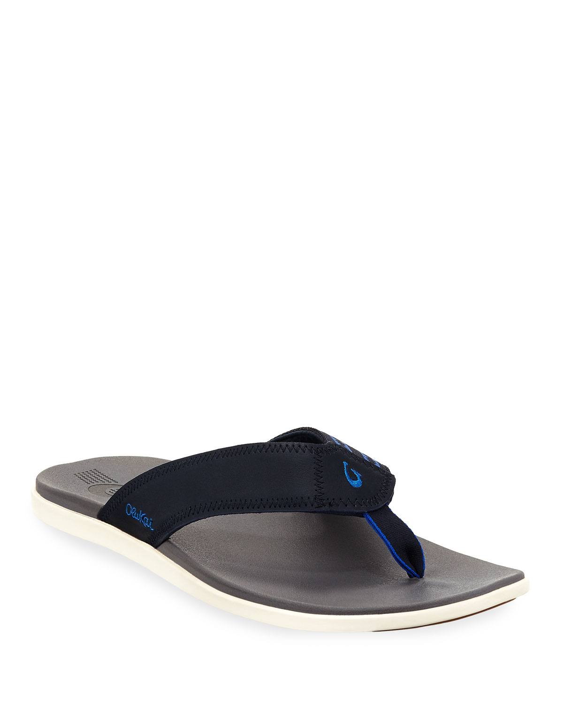 3a40395c03c Olukai Men s Kinona Neoprene Thong Sandals