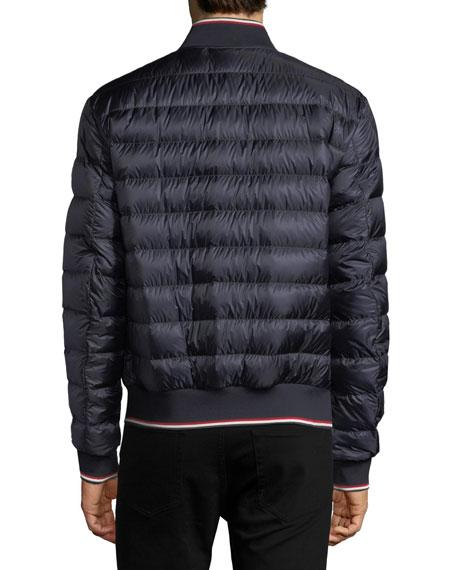 Aubry Puffer Bomber Jacket