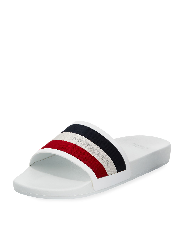 d6c6a27fe2fe Moncler Men s New Basile Slide Sandal