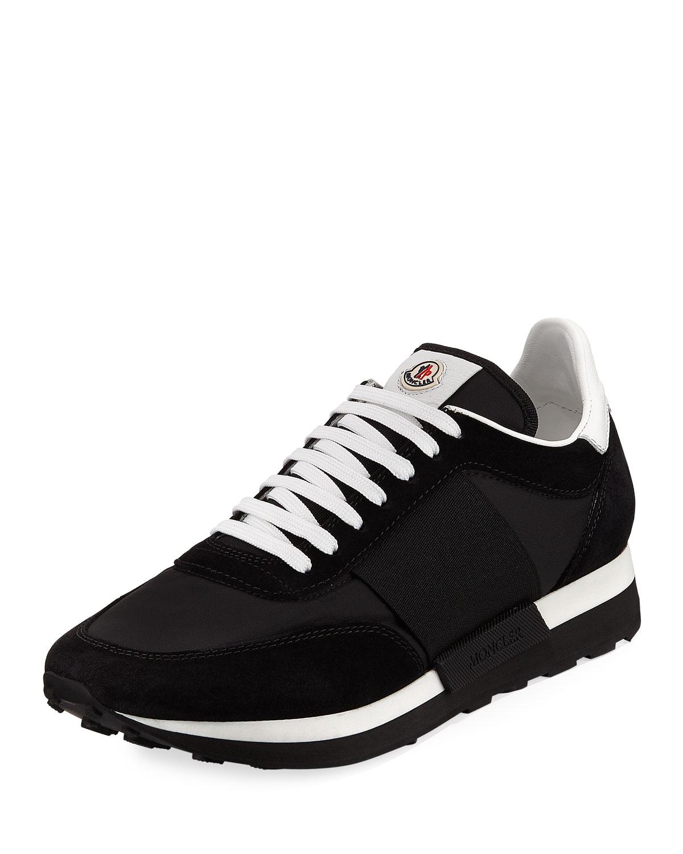 Horace Suede \u0026 Nylon Trainer Sneakers