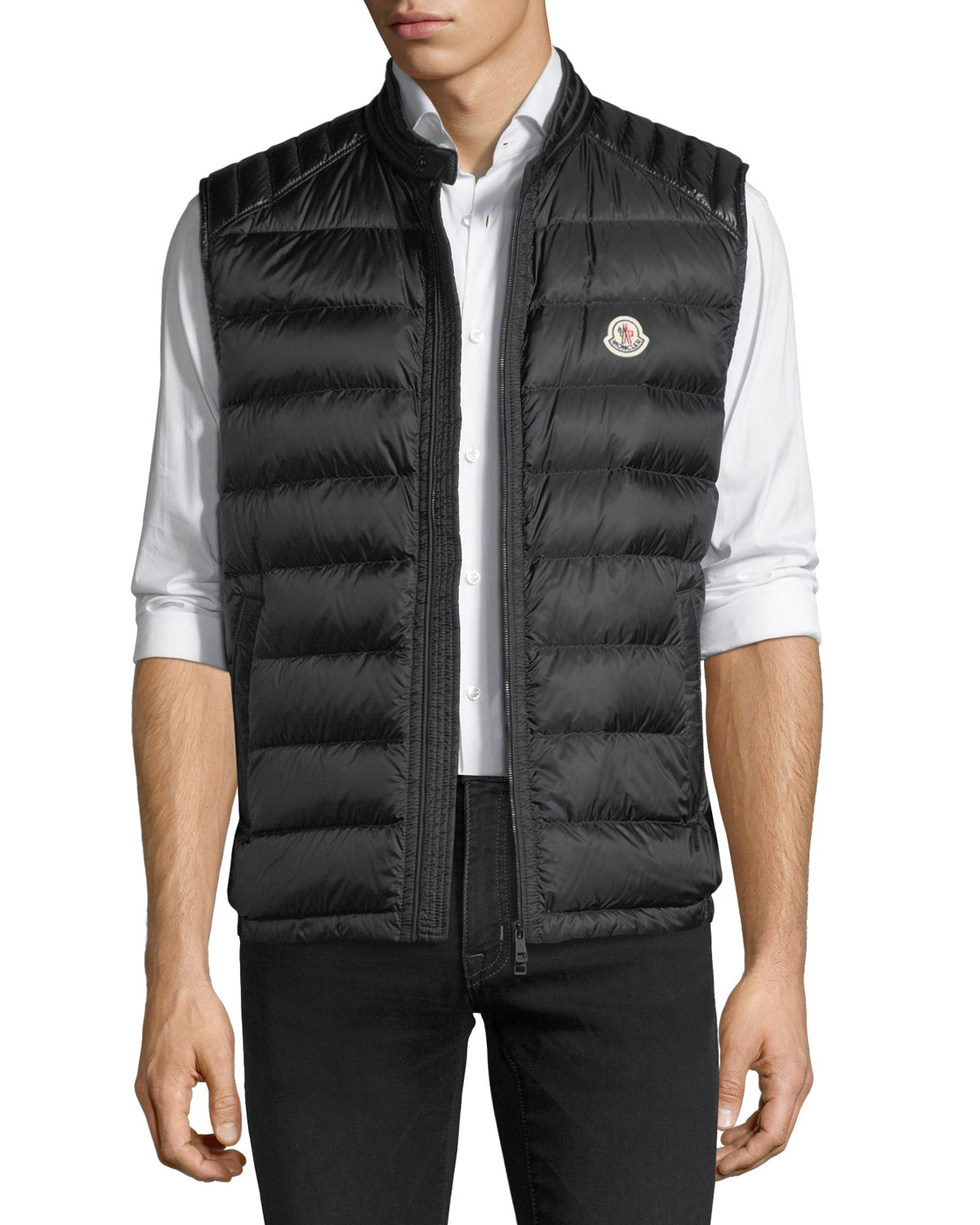 0383c259e8 Arves Nylon Down Gilet