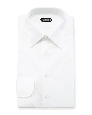 435fb2c29f TOM FORD Formal Pique Cotton Dress Shirt