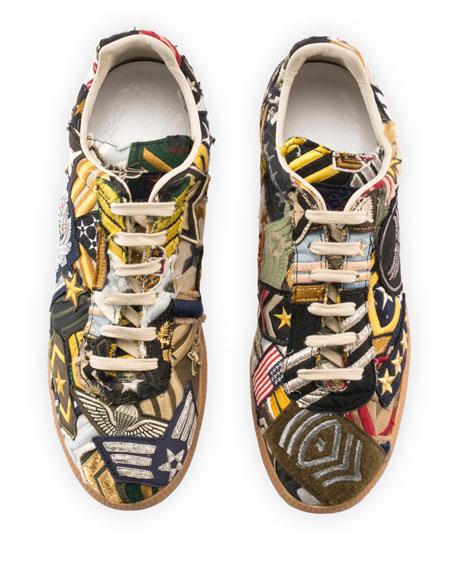 Replica Patch Low-Top Sneaker