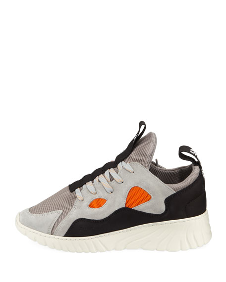 Men's Fence Colorblock Low-Top Runner Sneakers