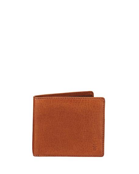 Frye Oliver Leather Billfold Wallet, Light Brown