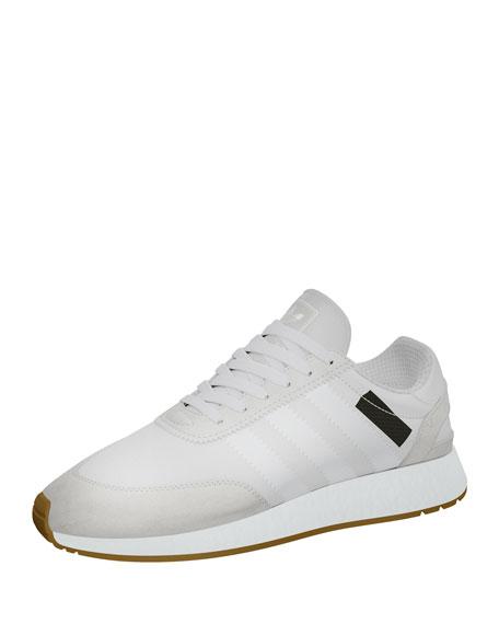 Adidas Suede-Trim Neoprene Sneaker, White