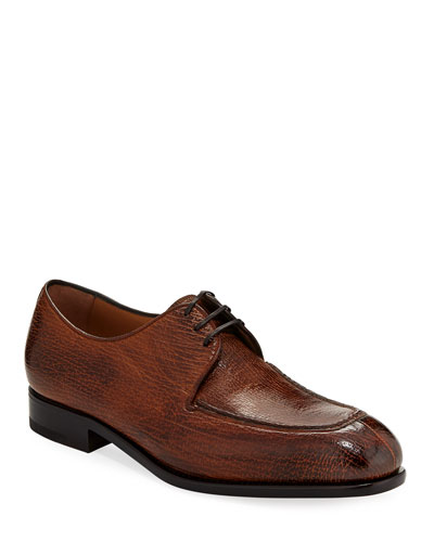 Pavia Special Edition Lace-Up Sharkskin Shoe