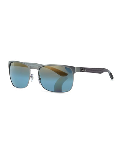 Half-Rim Polarized Sunglasses