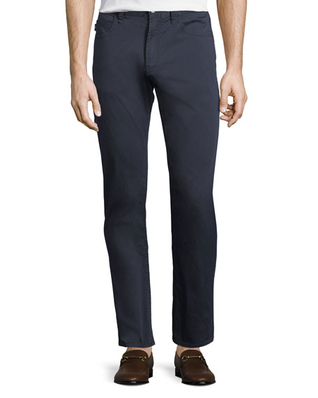 Emporio Armani Basic Five-Pocket Sateen Pants