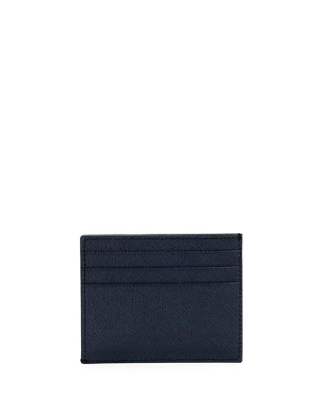 Prada Multicolor Saffiano Leather Card Case