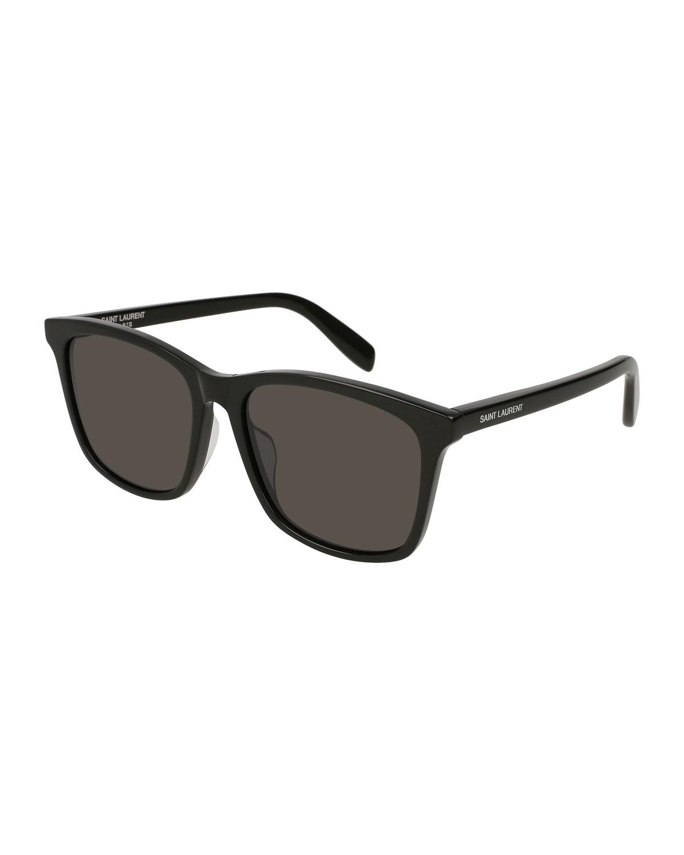 1c703d95940 Saint Laurent Square Acetate Sunglasses | Neiman Marcus