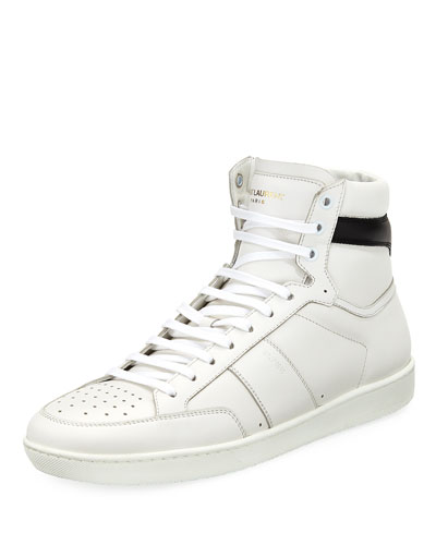 Men's Lace-Up High-Top Sneaker