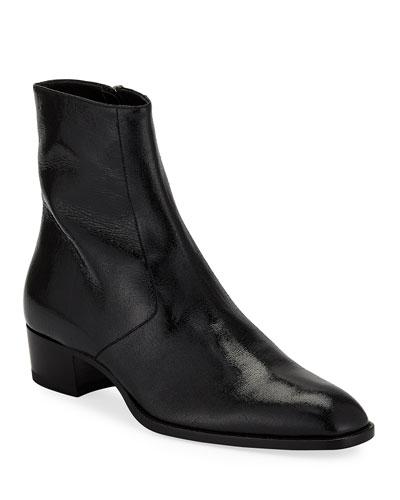 Men's Wyatt Zip-Up Boot  Black