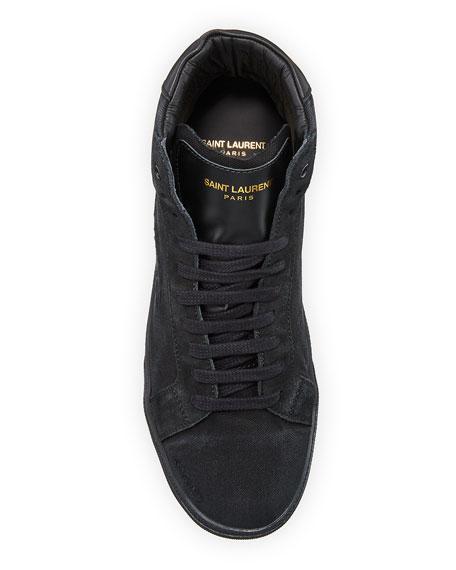 SL06 Men's Suede Mid-Top Sneakers