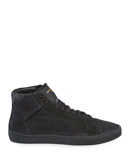 SL06 Men's Suede Mid-Top Sneakers