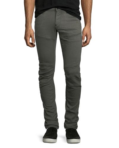 5620 3D Slim-Fit Jeans, Asphalt