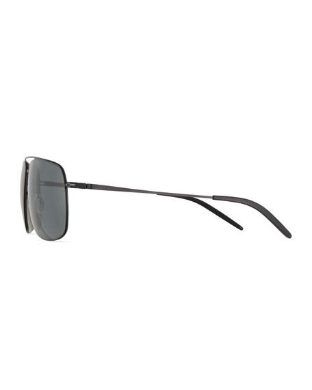 Men's Square Aviator Sunglasses