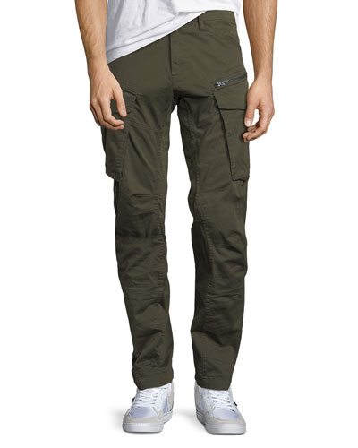 Rovic 3D Zip Cargo Pants, Green