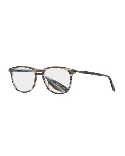Lautner Striped Acetate  Reading Glasses-2.5