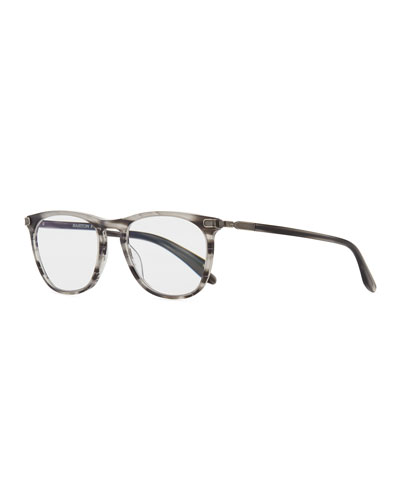 Lautner Striped Acetate  Reading Glasses-1.5