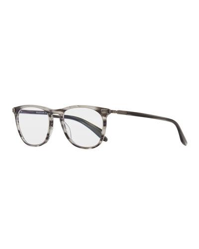 Lautner Striped Acetate  Reading Glasses-1.5