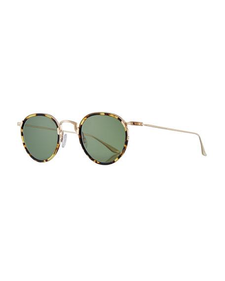 Barton Perreira Men's Aalto Matte Metal Sunglasses