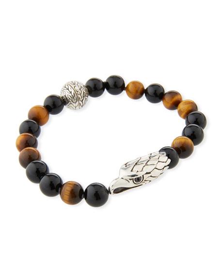 Men's Legends Eagle Bead Bracelet