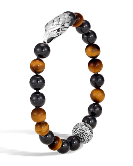 Men's Legends Eagle Bead Bracelet