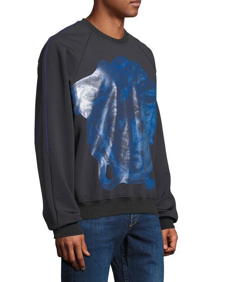 Versace Men's Dionysus Metallic-Graphic Sweatshirt