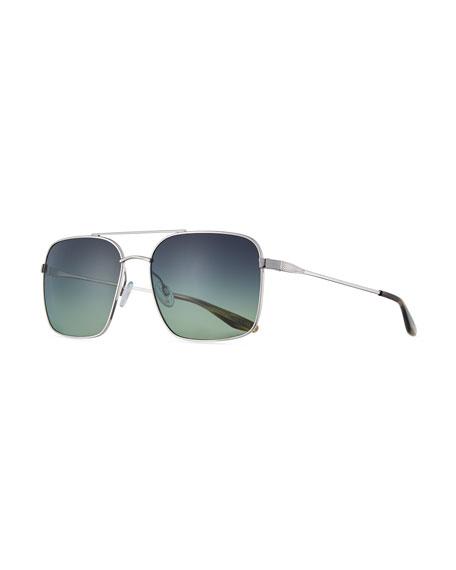 Barton Perreira Volair Square Metal Sunglasses