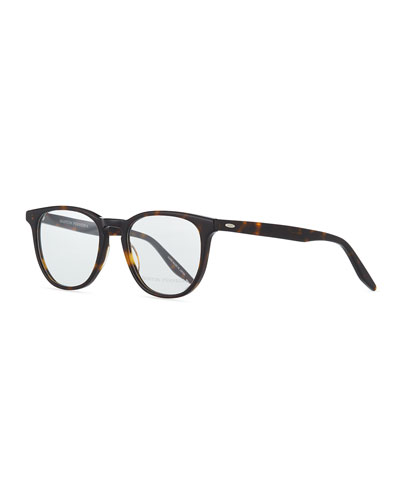 Redding Square Optical Glasses, Dark Brown