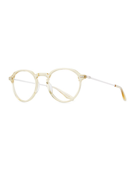 Barton Perreira Elon Round Translucent Optical Glasses