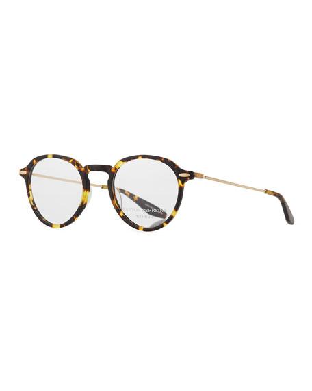Barton Perreira Elon Tortoiseshell Round Optical Glasses