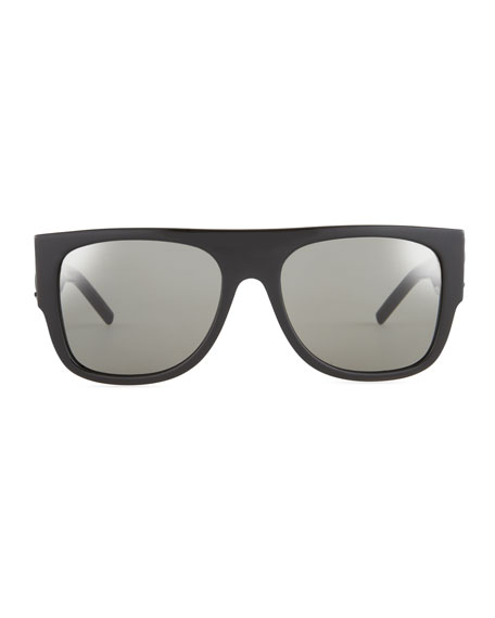 SL M16 Thick Sunglasses,Black