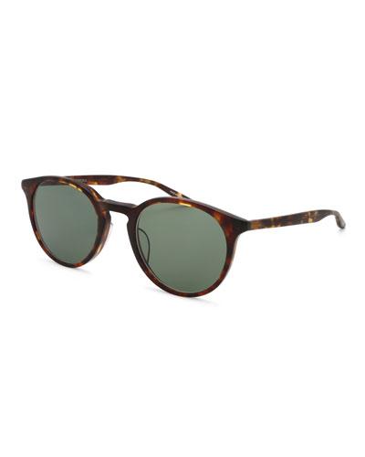 Princeton Round Tortoiseshell Sunglasses