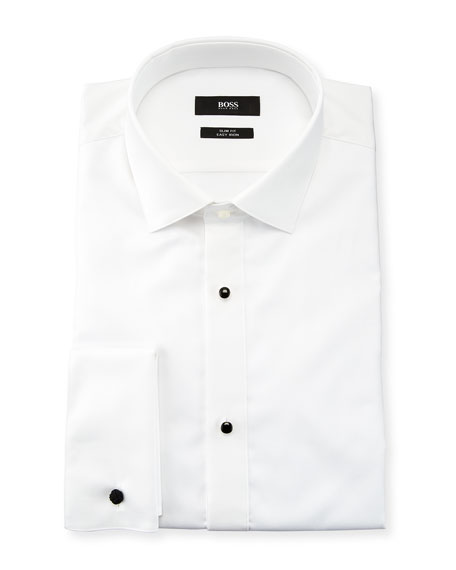 BOSS Bib-Front Tuxedo Shirt