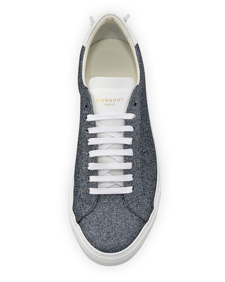 Urban Street Metallic Leather Low-Top Sneaker