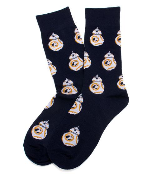 Cufflinks Inc. Star Wars BB-8 Droid Socks