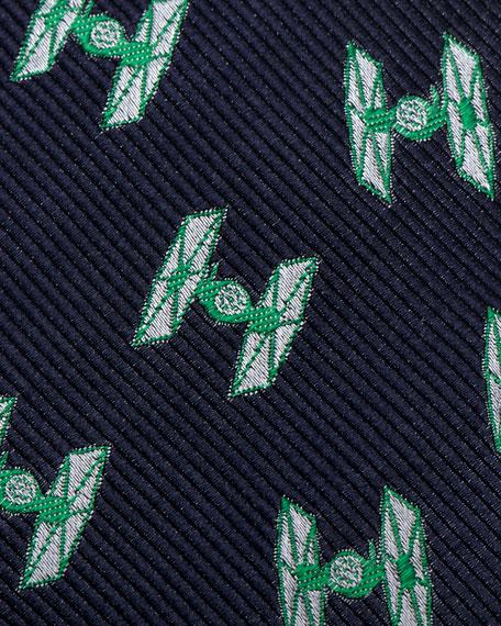 Cufflinks Inc. Star Wars Fighter Silk Tie