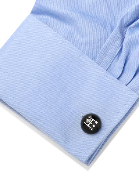 Cufflinks Inc. Vintage Gear Shift Enamel Cuff Links