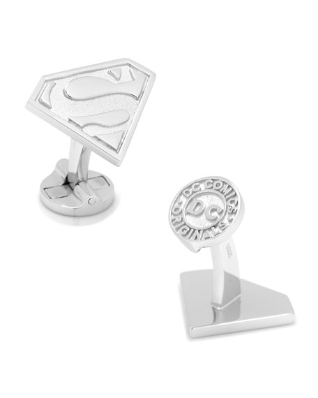 Cufflinks Inc. 3D Gold-Plated Superman Cuff Links 3oObL