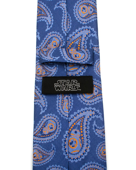 Cufflinks Inc. Star Wars BB-8 Paisley Tie