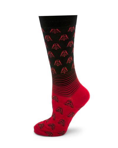 Star Wars Darth Vader Fade Socks