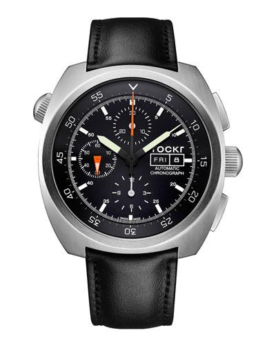 Air Defender Chronograph Watch  Black